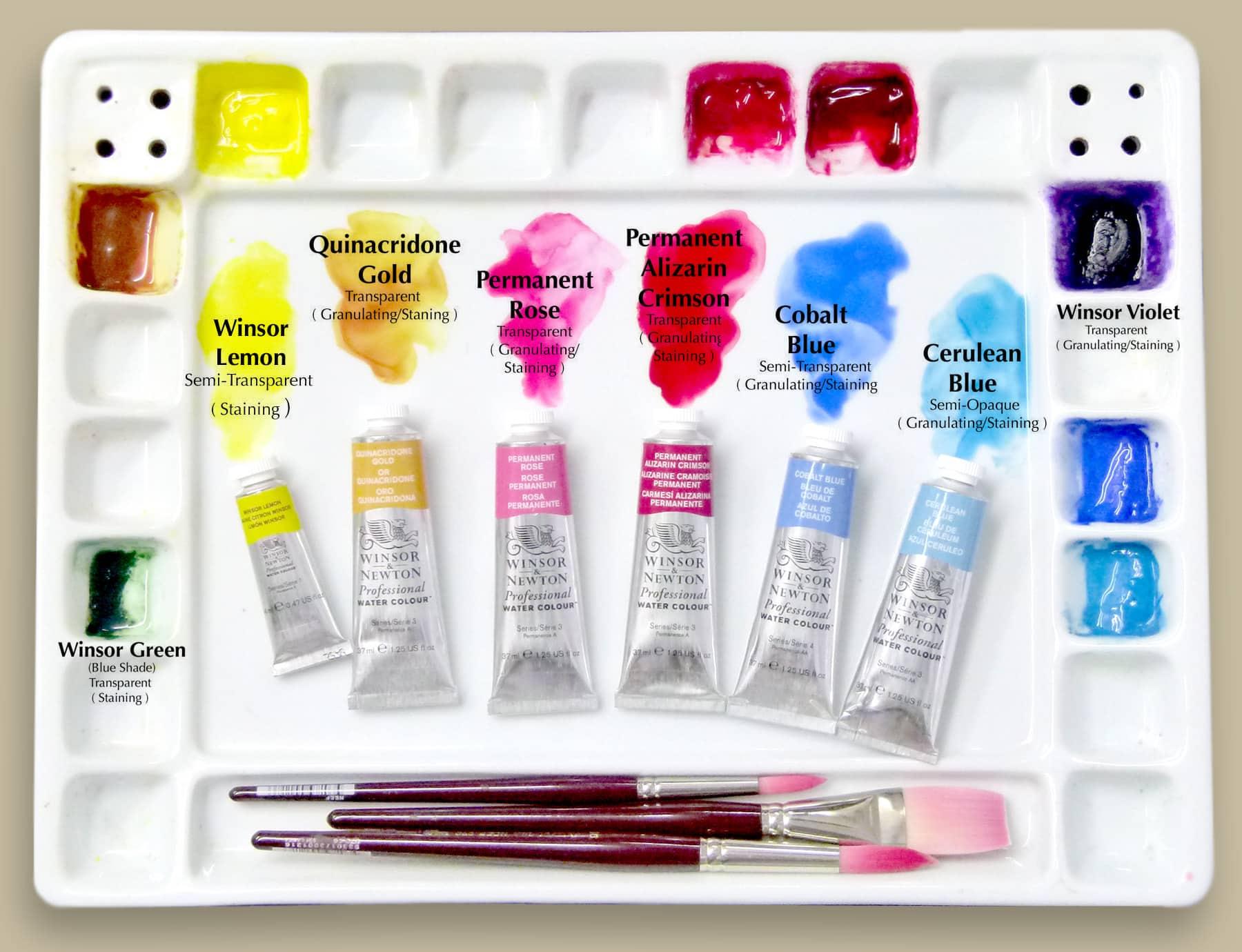 Palette & pigments